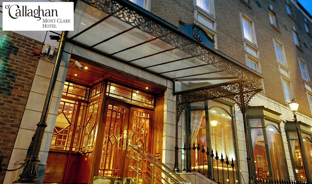 1 Night 99 Or 2 195 Room Only Stay For In The Heart Of Dublin With Late Check Out At O Callaghan Mont Clare Hotel