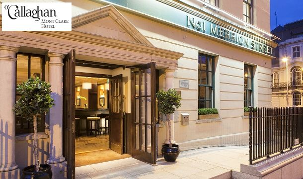 Stay For 2 With Late Check Out At The O Callaghan Mont Clare Hotel Dublin Save Up To 33 Pigsback