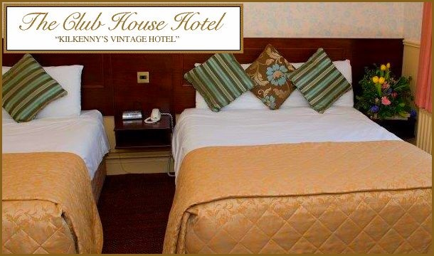 Kilkenny City Escape For 2 With Breakfast Dinner And A Late Check Out At The Club House Hotel
