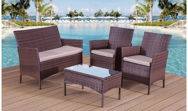 Garden Furniture Kilkenny €169.99 for a rattan garden sofa set in choice of colour - save up