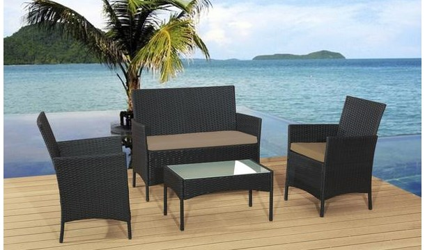 16999 for a rattan garden sofa set in choice of colour save up to 69 pigsbackcom