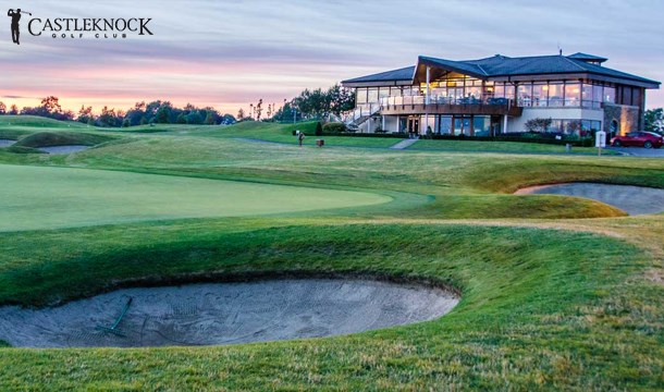 Win a Round of Golf and Lunch for 2 People at Castleknock Golf Club
