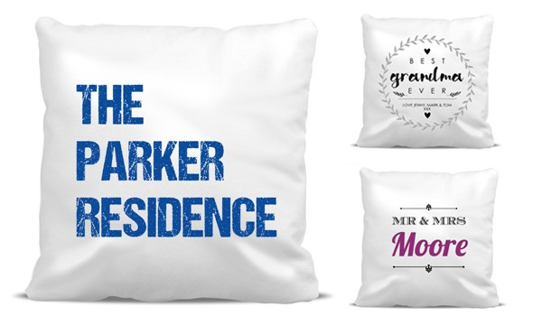 Personalised Cushion Covers 40 Styles Save Up To 40% DealRushie Amazing Personalised Pillow Covers