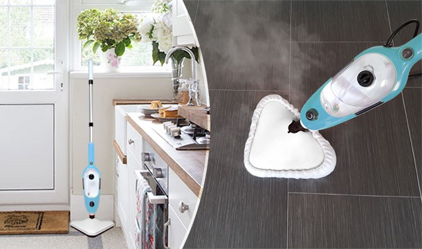 54 99 For A 1300w Multifunction Steam Mop Handheld Steam Cleaner