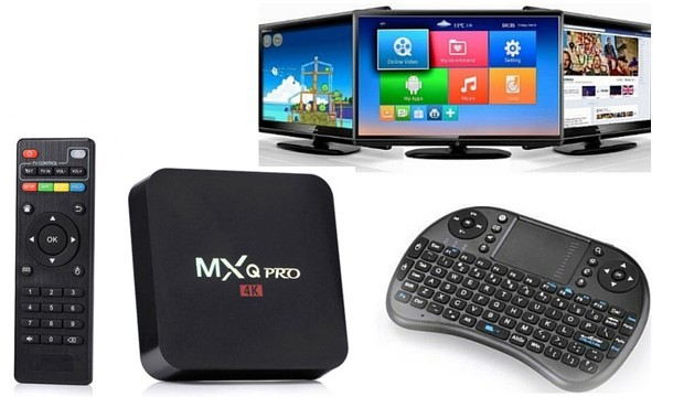 Android 7.1 MXQ Pro 4K Box - Save up to 77% | Pigsback.com
