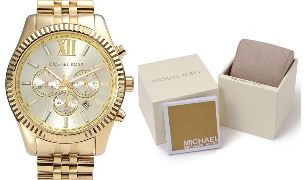 4e555df2ad2a Mens Michael Kors Lexington Chronograph Watch MK8281- 5 Days Delivery -  Save up to 39%
