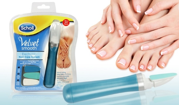 scholl nail care