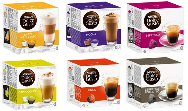 48 nescafe dolce gusto pods 28 flavours save up to 57. Black Bedroom Furniture Sets. Home Design Ideas