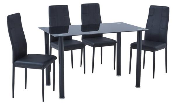Pigsback En Ie Offer 416586 Imagespigsback Images Megadeal Furniture Zone Blackdiningset6 1 EUR14799 For A