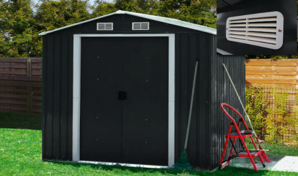 Garden Sheds Galway plantiflex™ metal garden sheds in 2 sizes - save up to 45