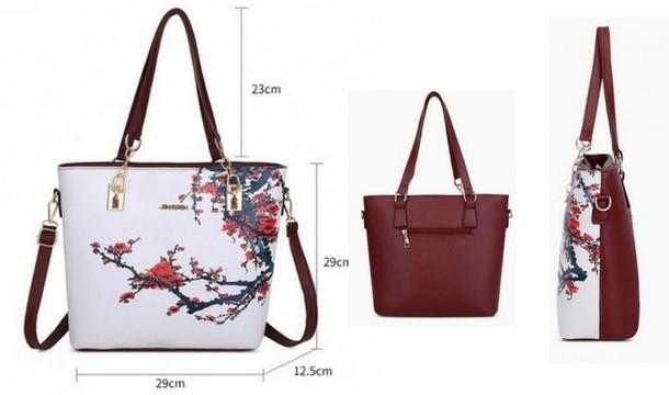 0baffa1eee65 ... https   images.pigsback.com images megadeal my-fashion-fix black7.jpg  My Fashion Fix €33.99 for a 6 Piece Floral Print Bag Set - 4 Colours 33.99  EUR ...