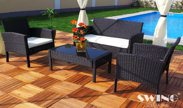 swing harmonie rattan garden furniture set save up to 33 pigsbackcom