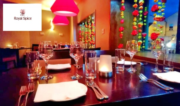 3 Course Meal For 2 People At Royal Spice Restaurant In Kilkenny
