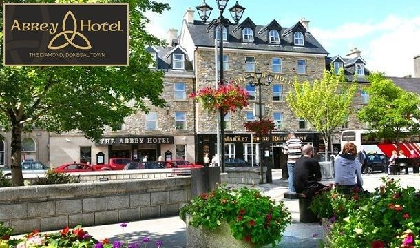 1 Or 2 Nights B B For 2 With Dining Credit At The Abbey Hotel Donegal Save Up To 44