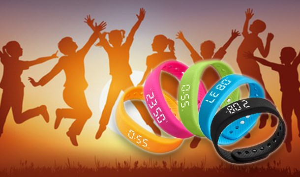 Kids Activity Tracker 5 Colours With Express Delivery Save Up To