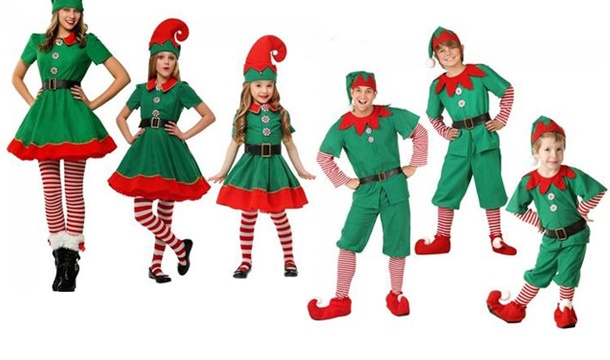 Christmas Elf Costume.Wow What Who